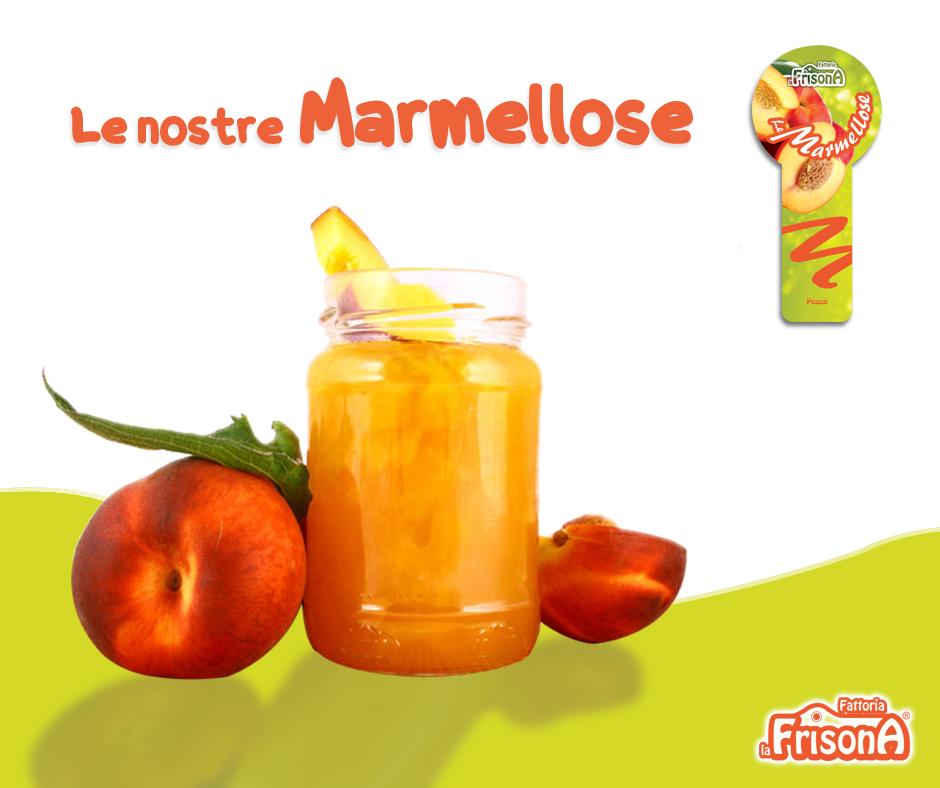 La marmellosa alla pesca per la merenda perfetta! http://www.fattorialafrisona.com/categoria-prodotto/marmellose/ #marmellate #merenda #gusto #pesca