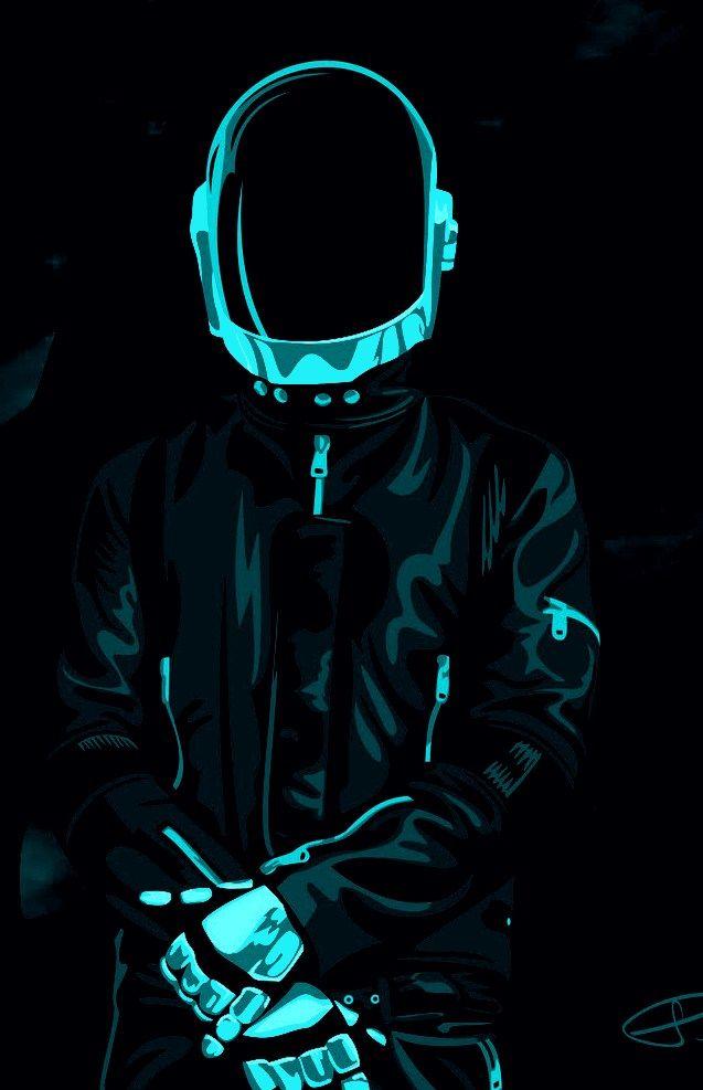 Daft Punk Red Wallpaper Hd - Top Wallpaper HD
