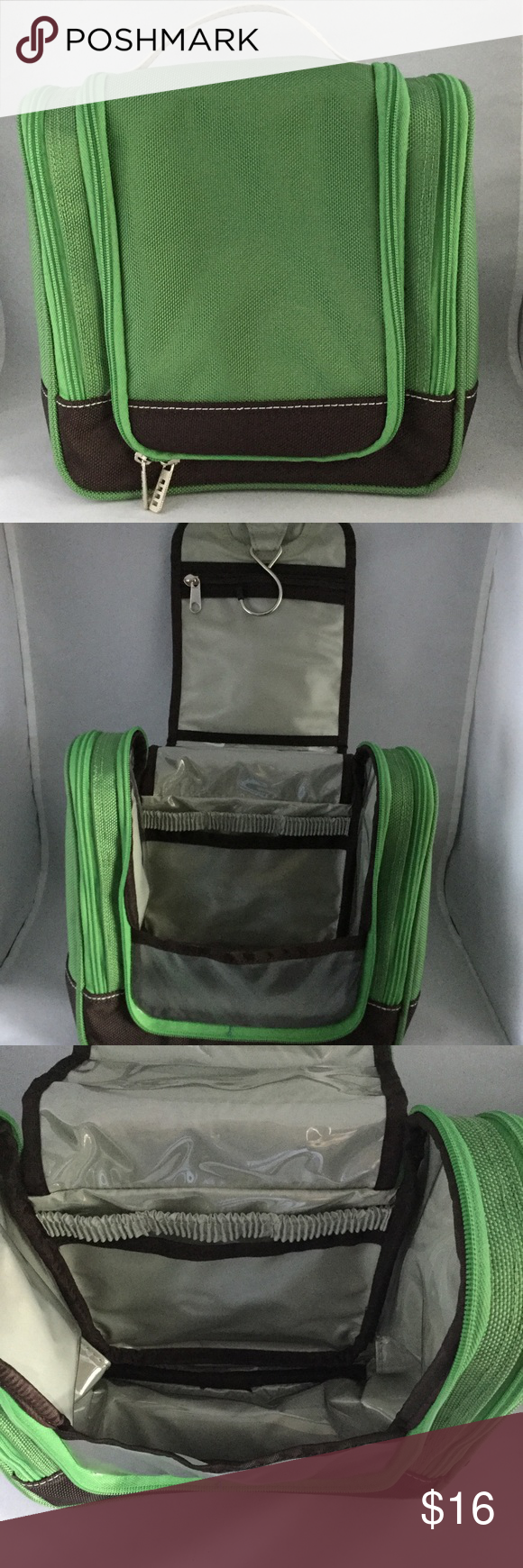 8e4121e5b7e4 Lands  End Hanging Travel Kit New