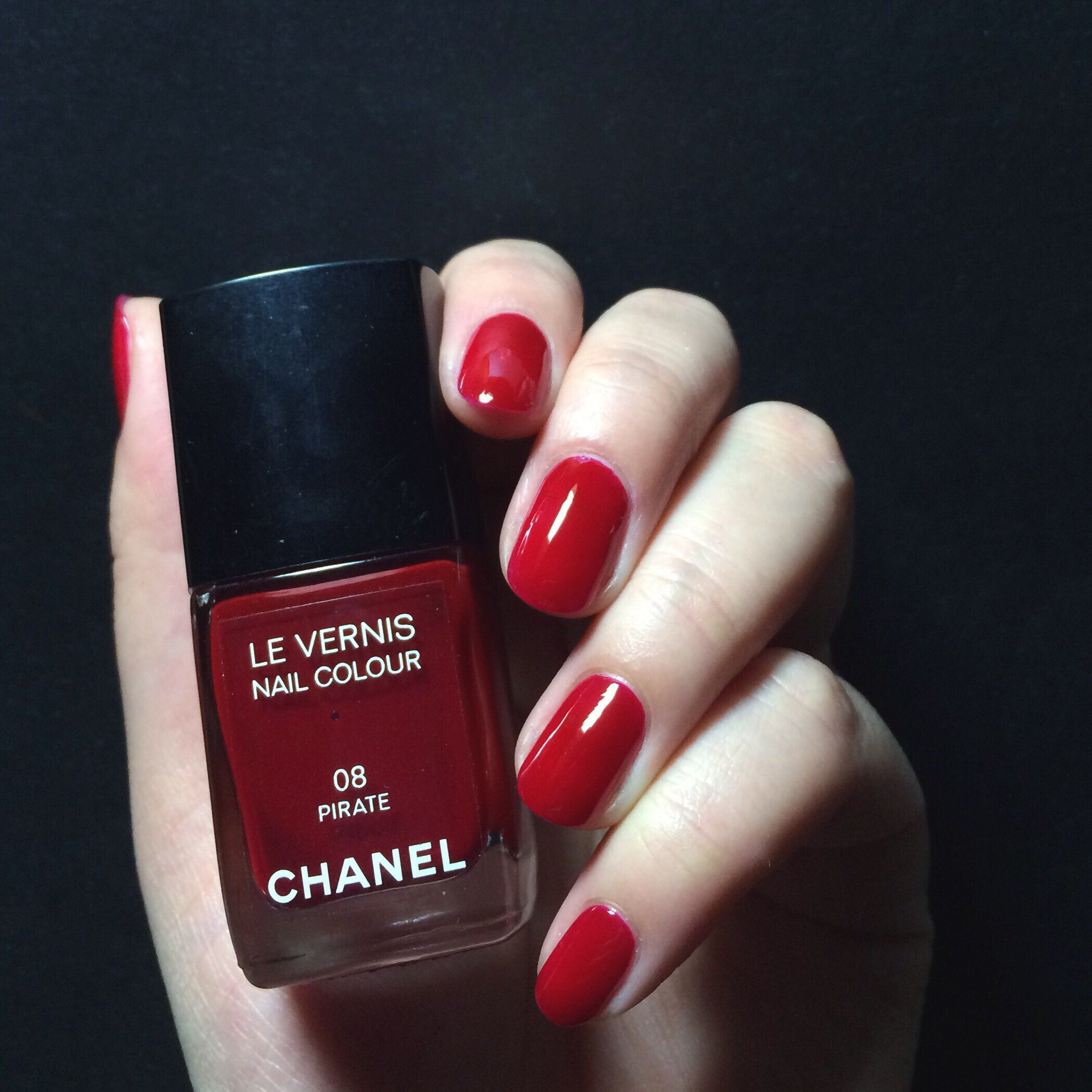 CHANEL Pirate - perfect shade of red. | Nails 4 All Seasons ...