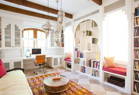 Moroccan Style Moroccan Living Room Home Office Design