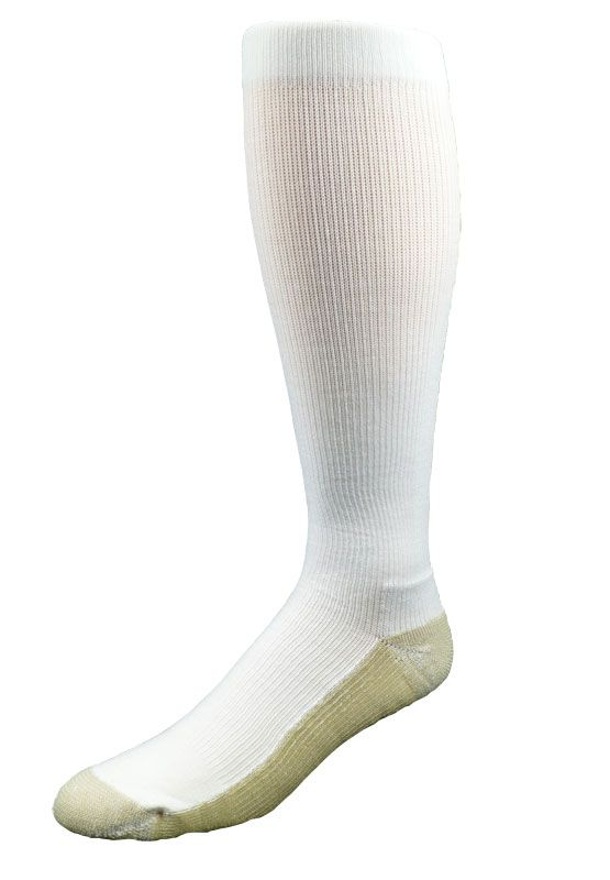 3915267ac1 New Allegro Athletic Copper Support Socks! Compression Socks for Sweaty  Feet - kills bacteria and wicks away sweat while ensuring great circulation.
