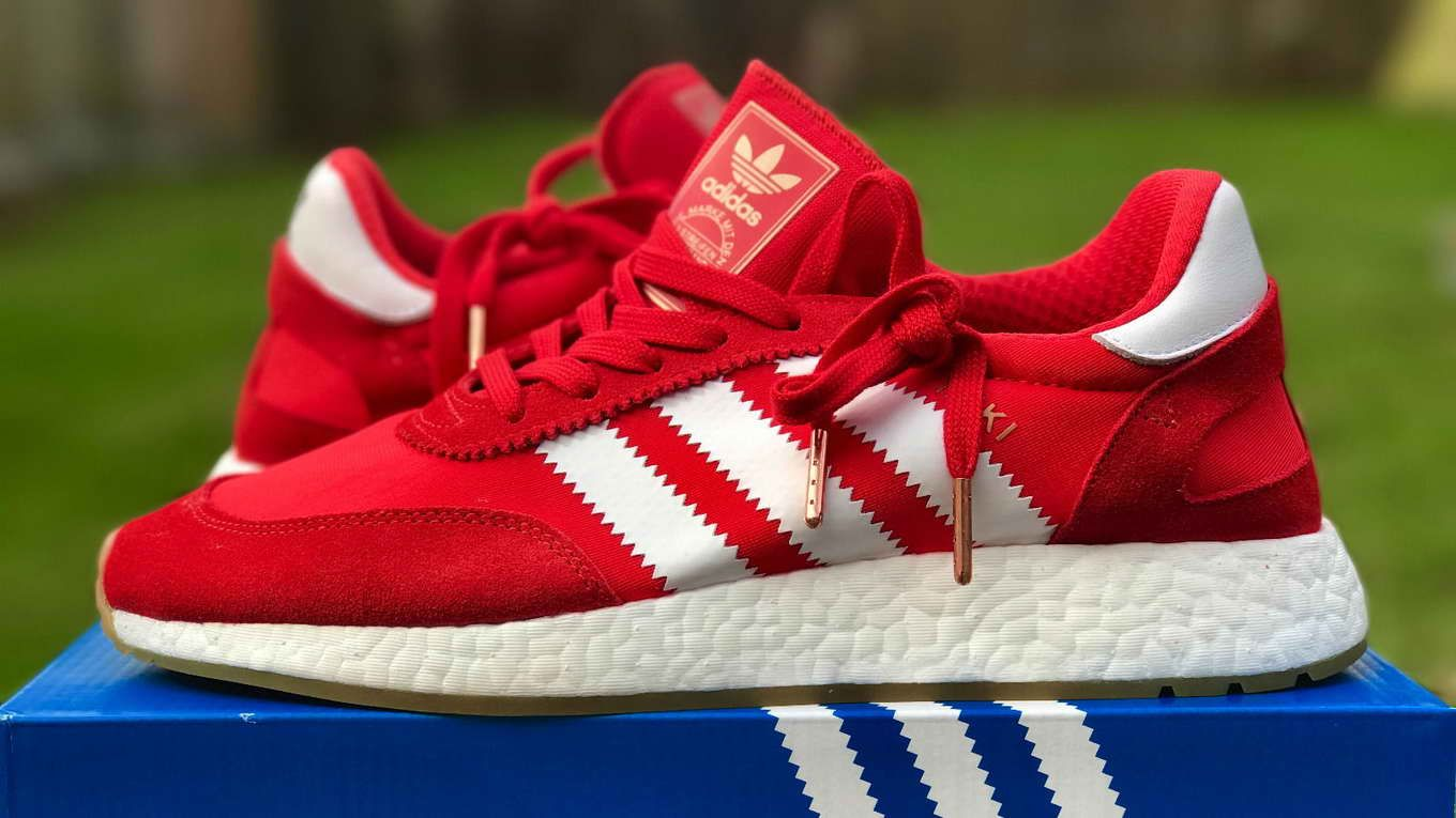 sports shoes 258ff 09e4c ADIDAS INIKI RUNNER BOOST CLASSIC RED WHITE BB2091