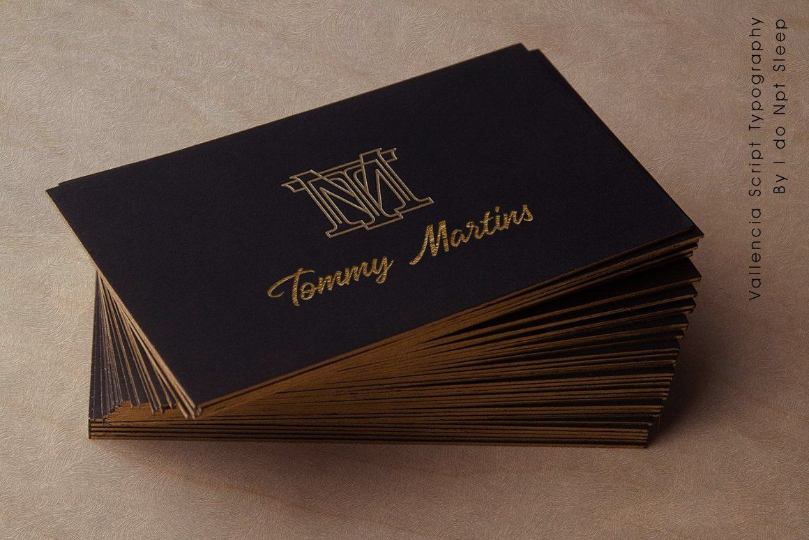 Vallencia Luxury Business Cards Black Business Card Business Cards