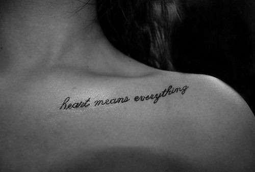 quote tattoo | Tumblr | Tattoos | Pinterest | Tattoo, Piercing and ...