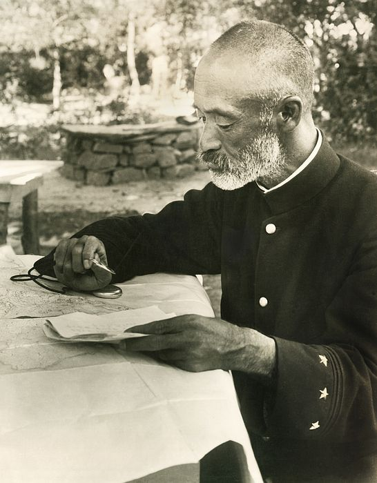 Port arthur manchuria september 13 1904 japanese general nogi port arthur manchuria september 13 1904 japanese general nogi maresuke studying his seige map at his headquaters during the russo japanese war gumiabroncs Images