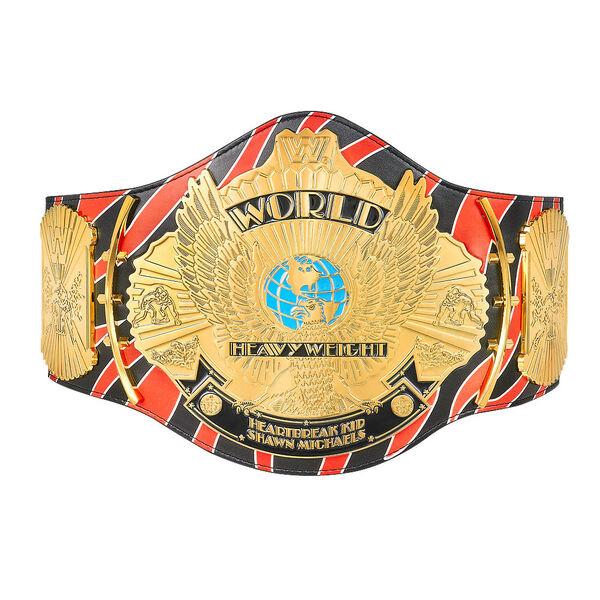 Shawn Michaels Signature Series Championship Replica Title Shawn Michaels Wwe Shawn Michaels Shawn