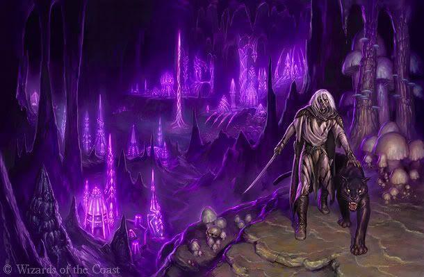 Drizzt Do'Urden leaving Menzoberranzan   Amethyst   Dungeons