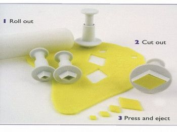 Diamond Plunger Cutter Set 4 Piece by PME