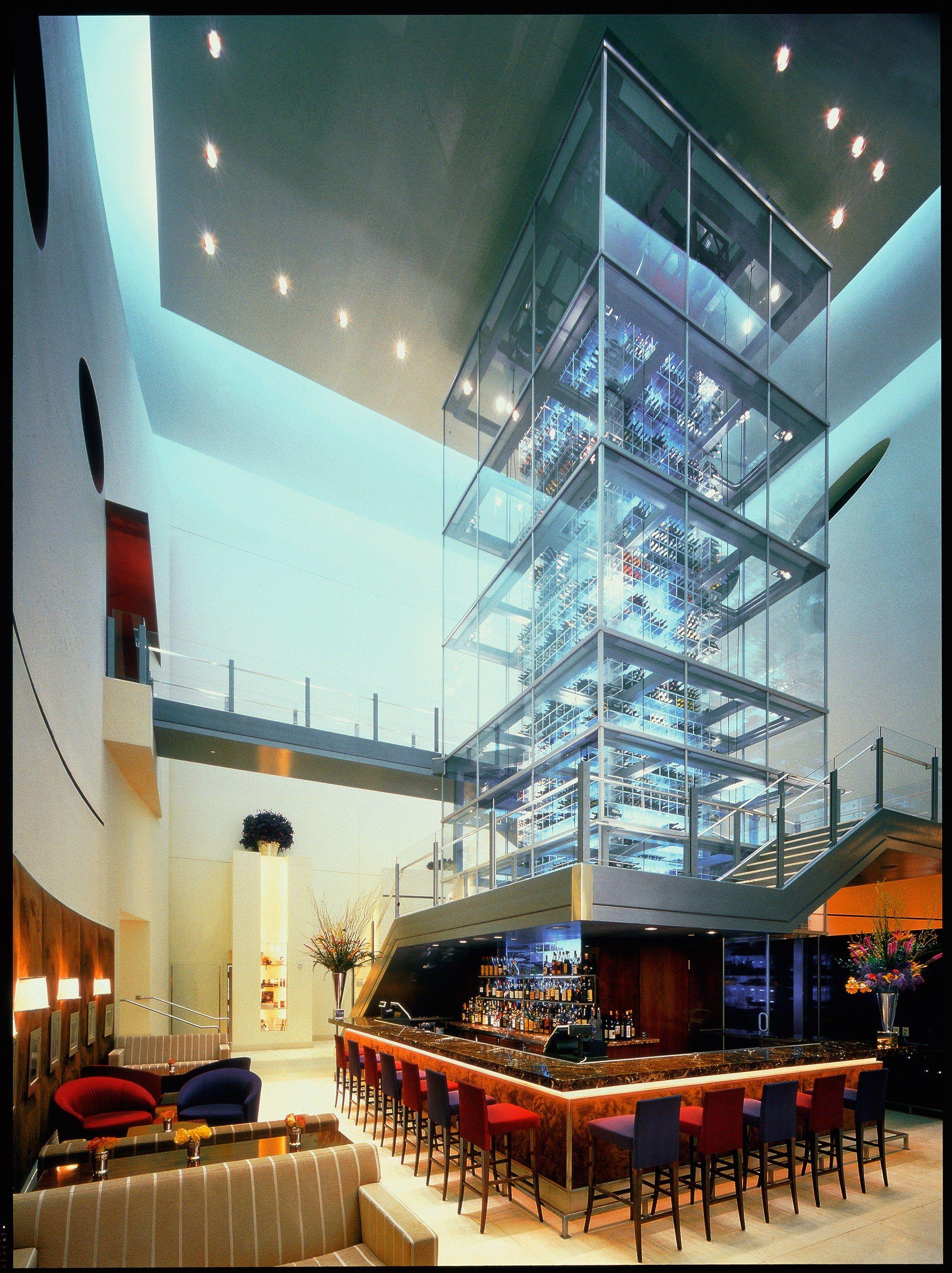 Restaurants with the Best Wine Storage Photos | Architectural Digest