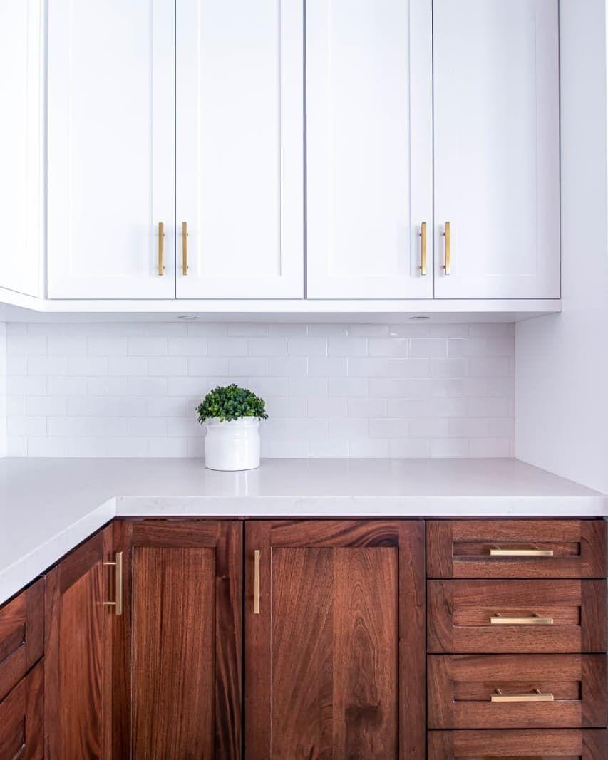 Cocina En Madera De Cedro Combinada Con Mdf Y Parota Kitchen Kitchen Cabinets Home Decor