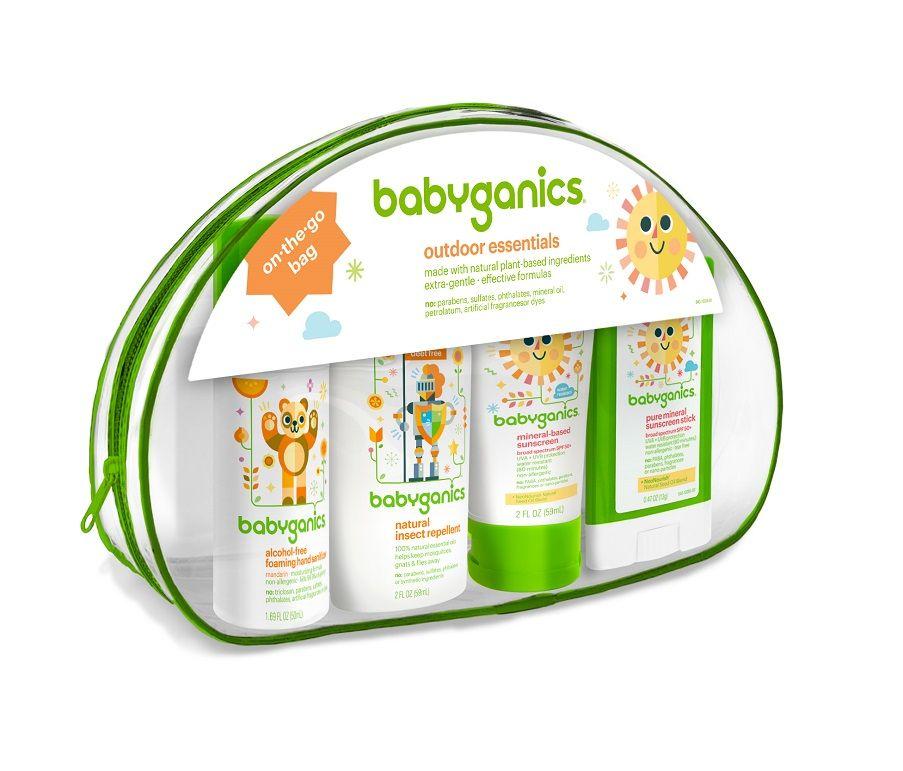 Baby Ganics Outdoor Essentials Kit Hand Sanitizer Sunblocks