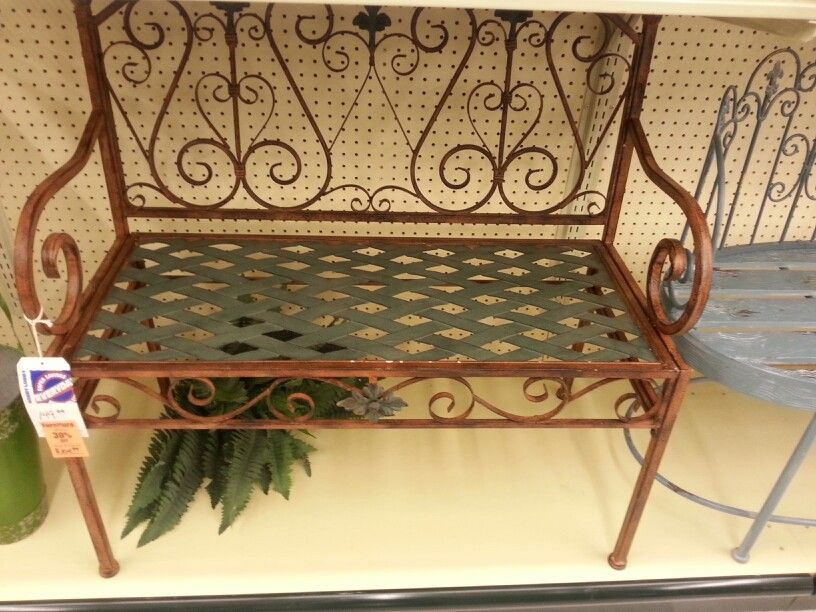 Front Porch Bench From Hobby Lobby