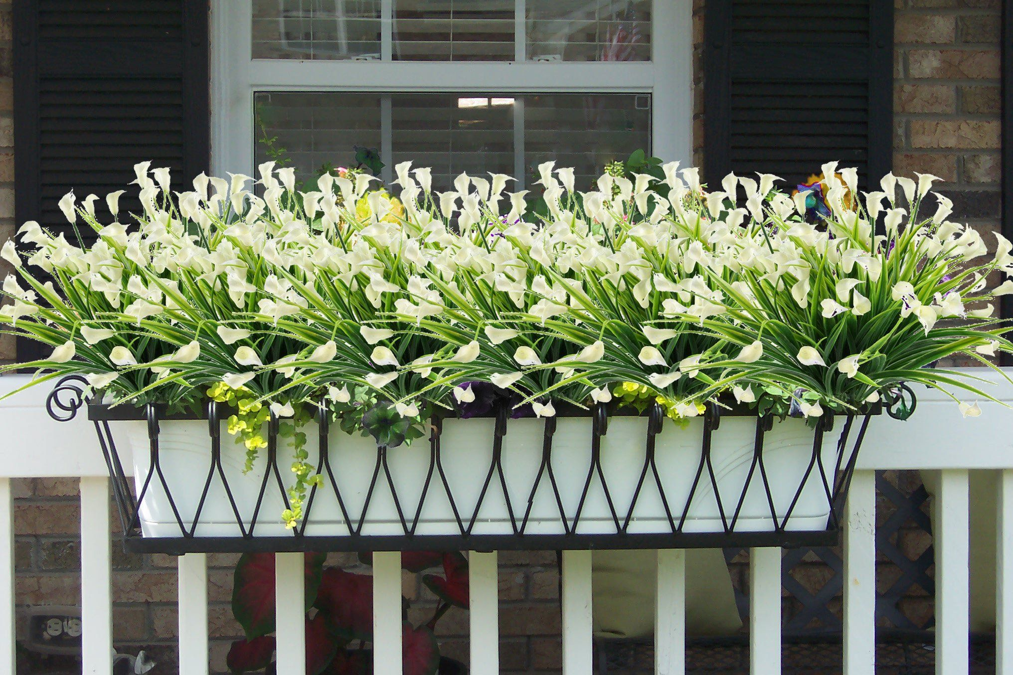 Artificial Flowers Outdoor Fake Plants