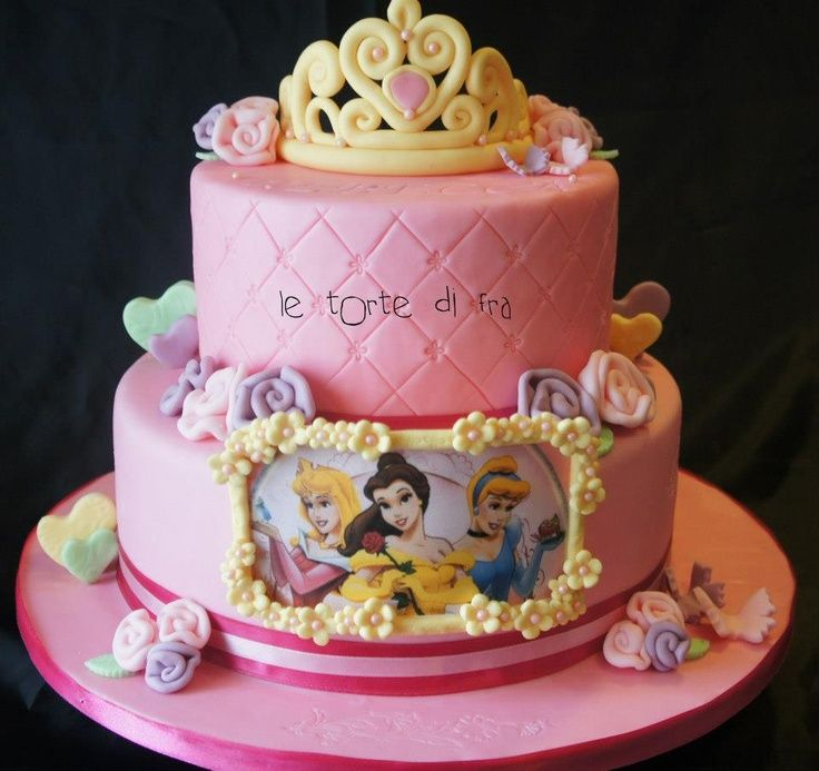 Disney Cake Designs Princesses : Disney Princess Cake MyCakes Celebrate My 3 Year Old ...