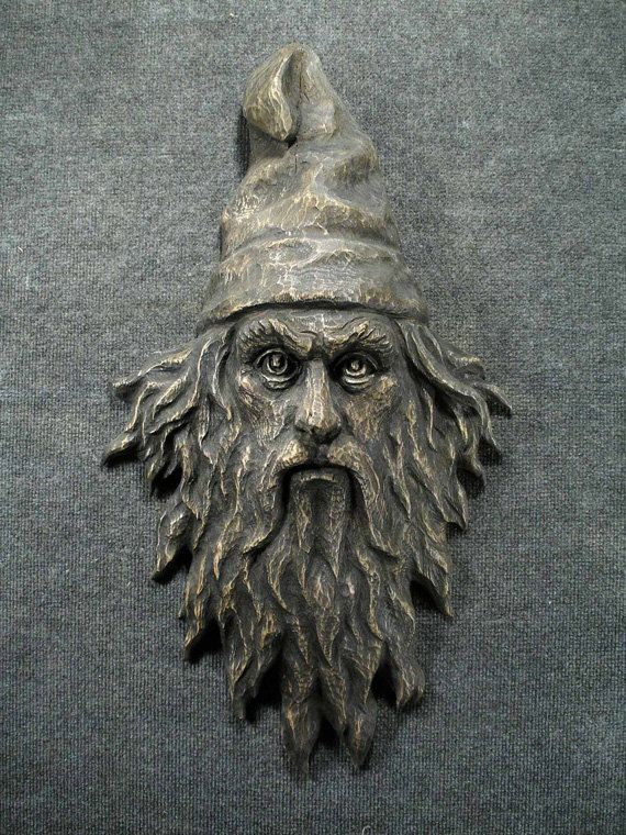 The gaze wizard face for wall best walls and wood