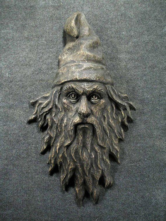 The Gaze- Wizard Face for Wall