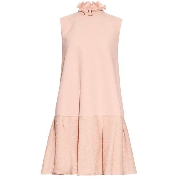 44f3d91f79c Roksanda Keifer ruffled-collar double-crepe dress ( 1