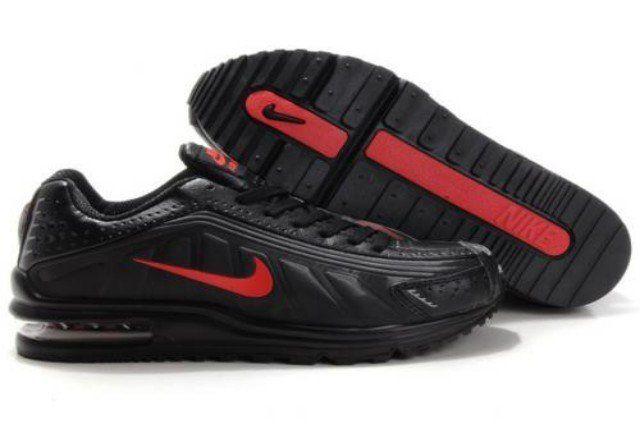 q8wU3 Homme Nike Air Max LTD V 5 2011 Noir/Rouge France Gros