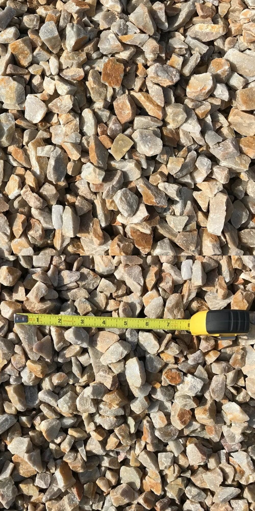 Landscape Rocks and Pebbles 118861: Quartz Decorative Landscaping Gravel  0.50 Cu Ft 40 Lb 3 4 In. Honey Golden Hone -> BUY IT NOW ONLY: $19.54 on  #eBay ... - Landscape Rocks And Pebbles 118861: Quartz Decorative Landscaping