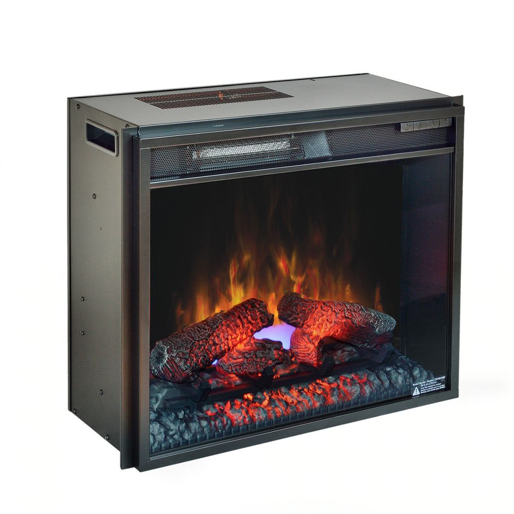 Plug In Electric Fireplaces Classicflame 23 In Spectrafire Plus Plug In Electric Insert