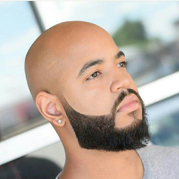 Resultado De Imagen Para Shave Head Men Style Estilos De Barba Disenos De Barba Y Hombres Calvos Con Barba