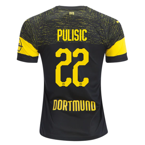 570737310c5 Borussia Dortmund 18/19 Away Men Soccer Jersey Personalized Name and Number  - zorrojersey