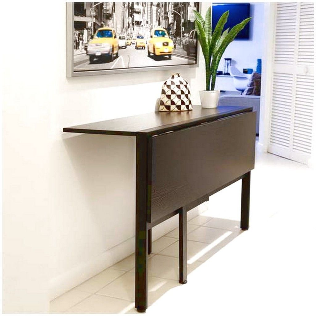 Interesting folding tables for small spaces | Wall mounted ...