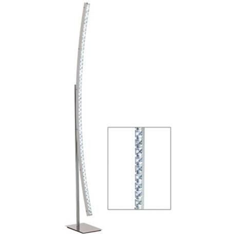 Kryss Beaded Crystal LED Accent Floor Lamp - | Addition | Pinterest ...