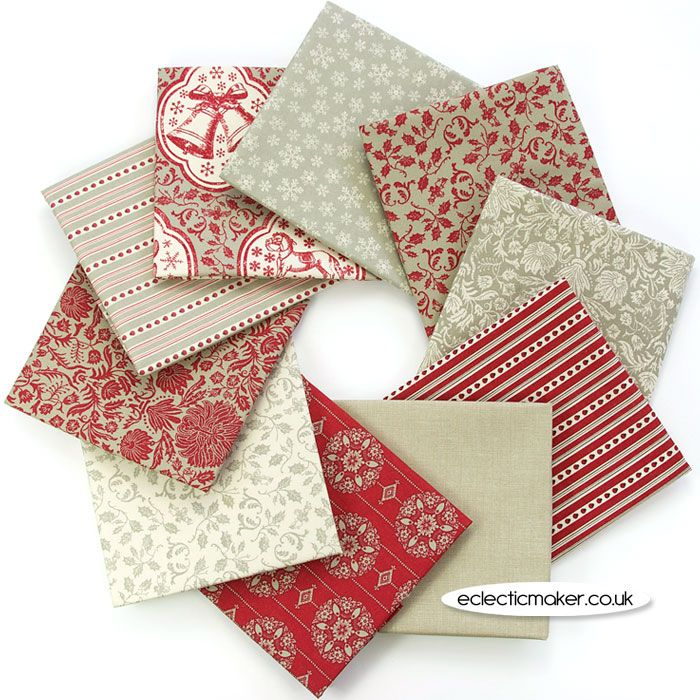 Joyeux Noel Twilight.Joyeux Noel Fabric Pack French General In Rouge French