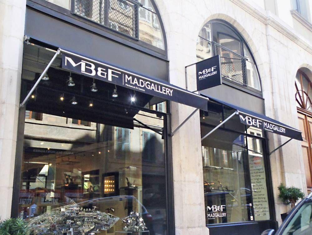 Située à Genève, la M.A.D.Gallery de MB&F est un véritable succès. Visite au sein d'un concept que, pour une fois, on aimerait bien voir répliquer.