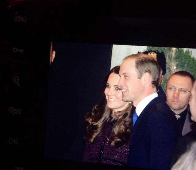 Kate and William arrive in New York