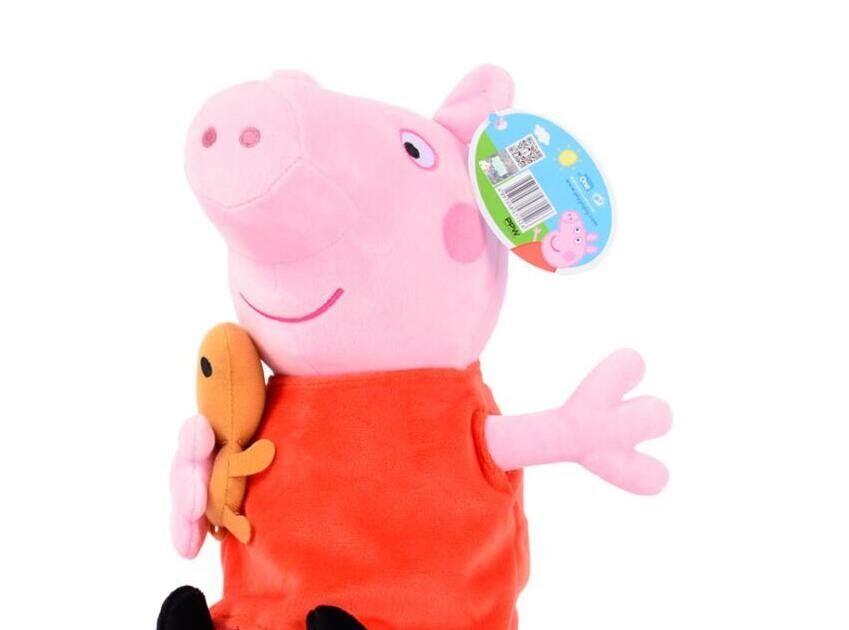 Cheapest Original Brand Peppa Pig Kawaii Stuffed Animal Plush Toy