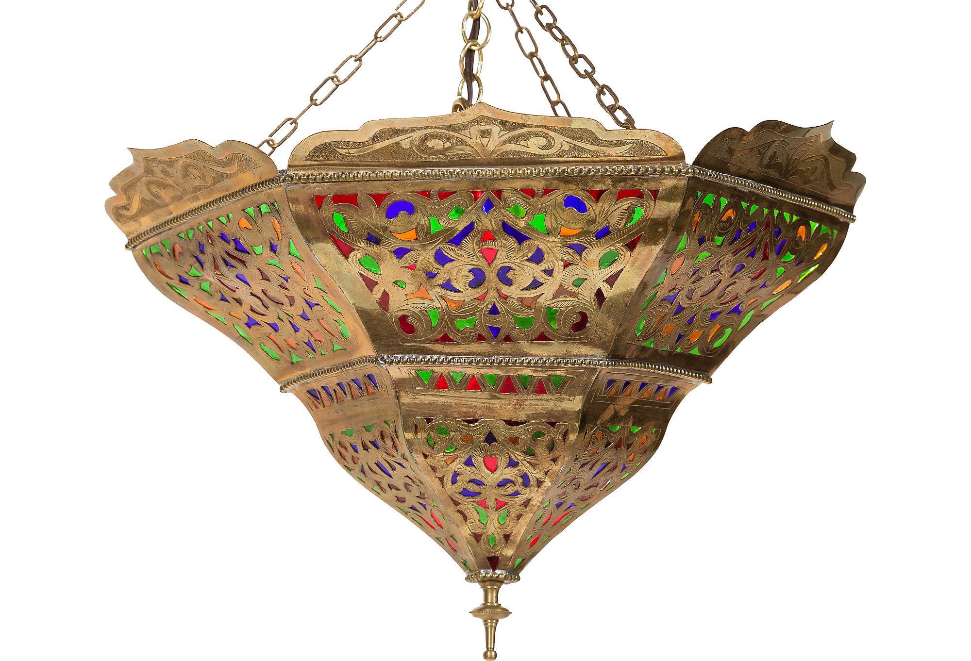 Moroccan style chandelier lmparas techo y auxiliares moroccan style chandelier arubaitofo Gallery