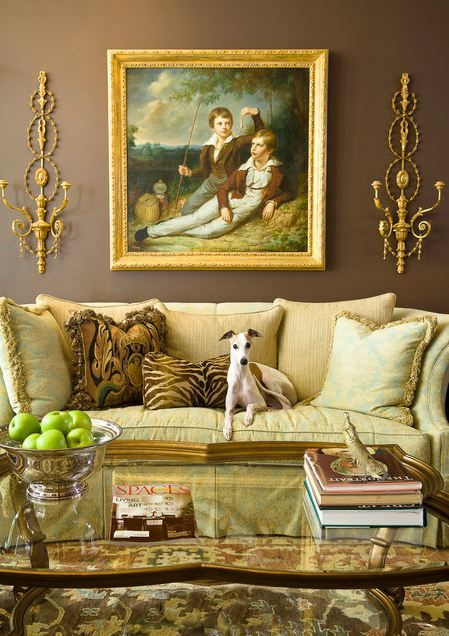 Traditional Victorian Colonial Living Room By Timothy Corrigan With Images: Great Contrast For A Regal Yet Elegant Living Room.