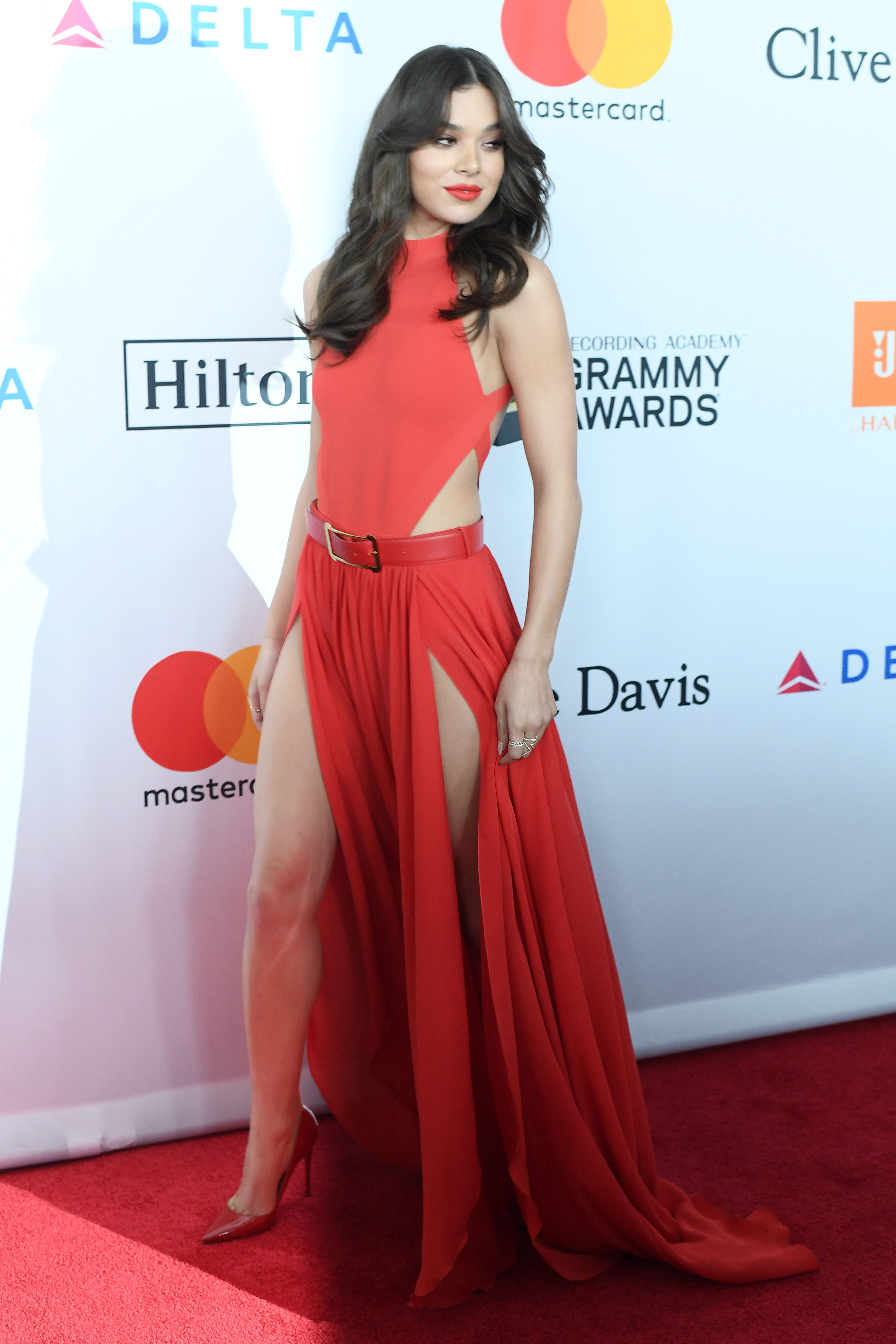 Hailee Steinfeld Clive Davis Annual PreGrammy Gala and