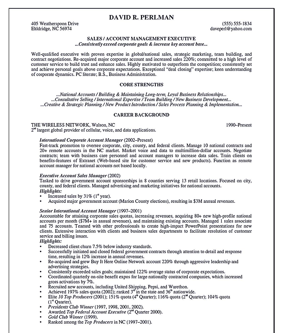 Account Manager Resume Shows Your Professionalism In The Same Field The Resume Has Your Professional Summary Account Ma Resume Examples Manager Resume Resume