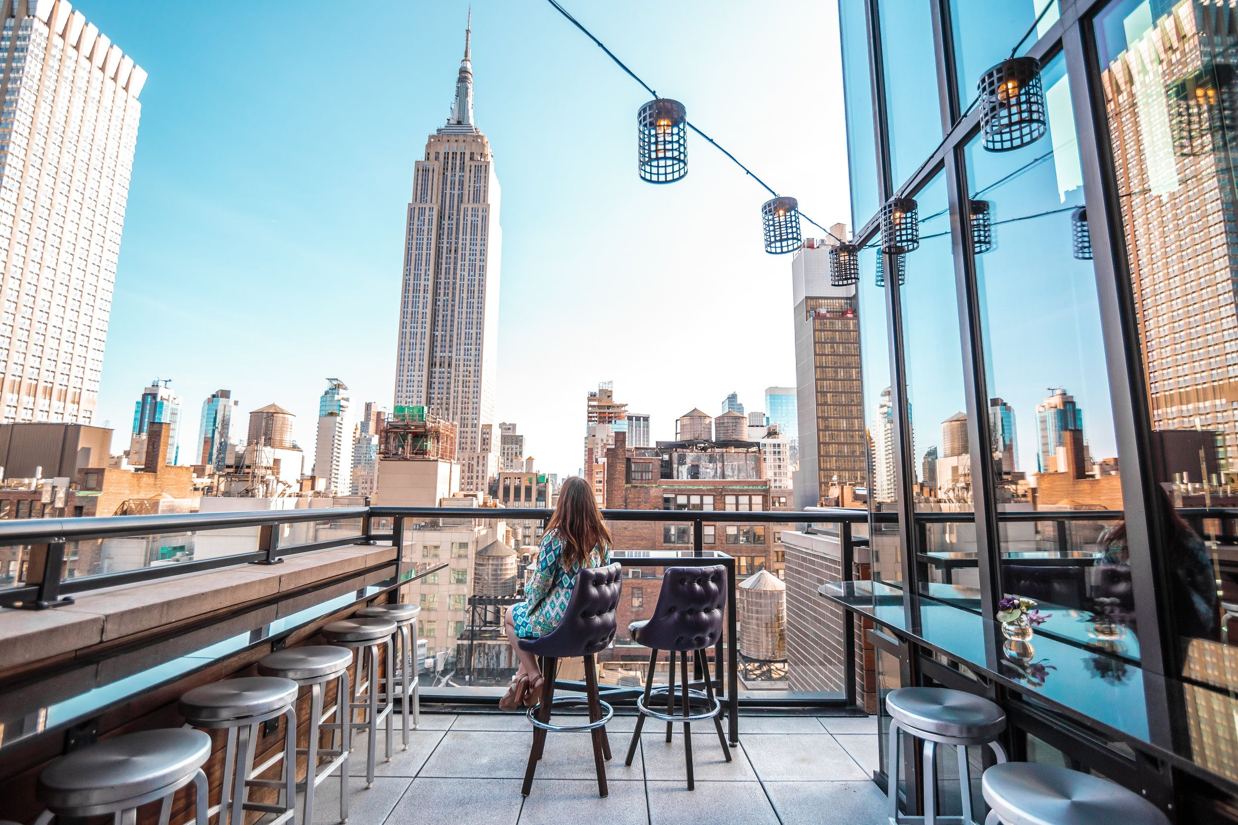 Nyc Rooftop Bars With A Skyline View