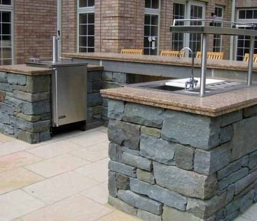 Outdoor Bar Stone Designs 500x430px