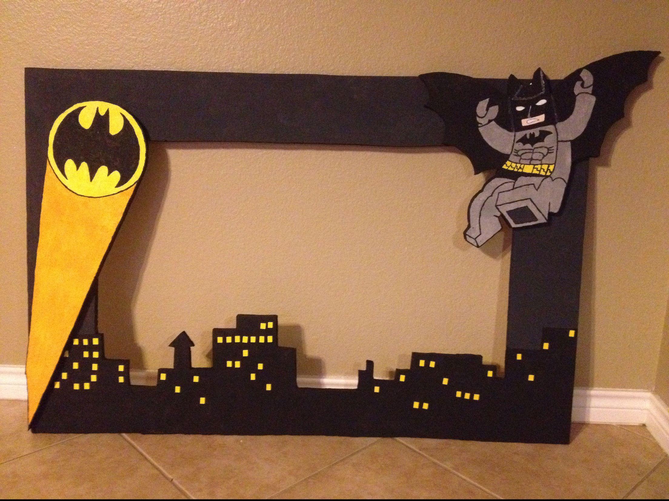 Batman photo frame … | Pinteres…