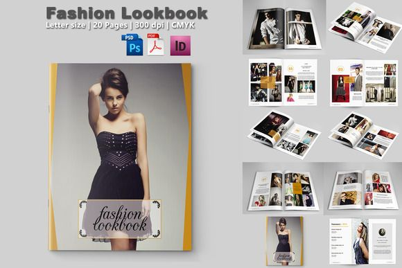 Fashion Magazine TemplateV By Template Shop On Creativework