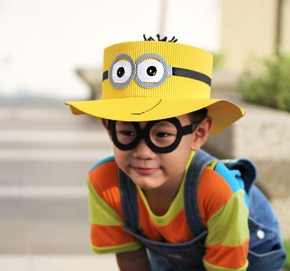 75e14d8ee5e82 Faça este chapéu dos Minions e aumente a diversão de seus filhos (Foto   craftpassion.com)
