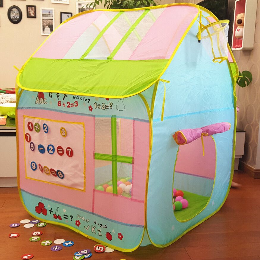 Child Gift Cute Quality Kids Play Tent Play Game House Indoor Outdoor Toy Tent Children Baby & Child Gift Cute Quality Kids Play Tent Play Game House Indoor ...