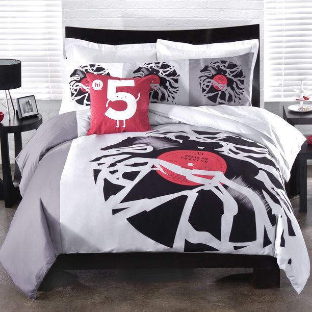 Disc Jockey Duvet Cover FullQn Duvet Bedrooms And Room Delectable Body Pillow Covers Bed Bath And Beyond