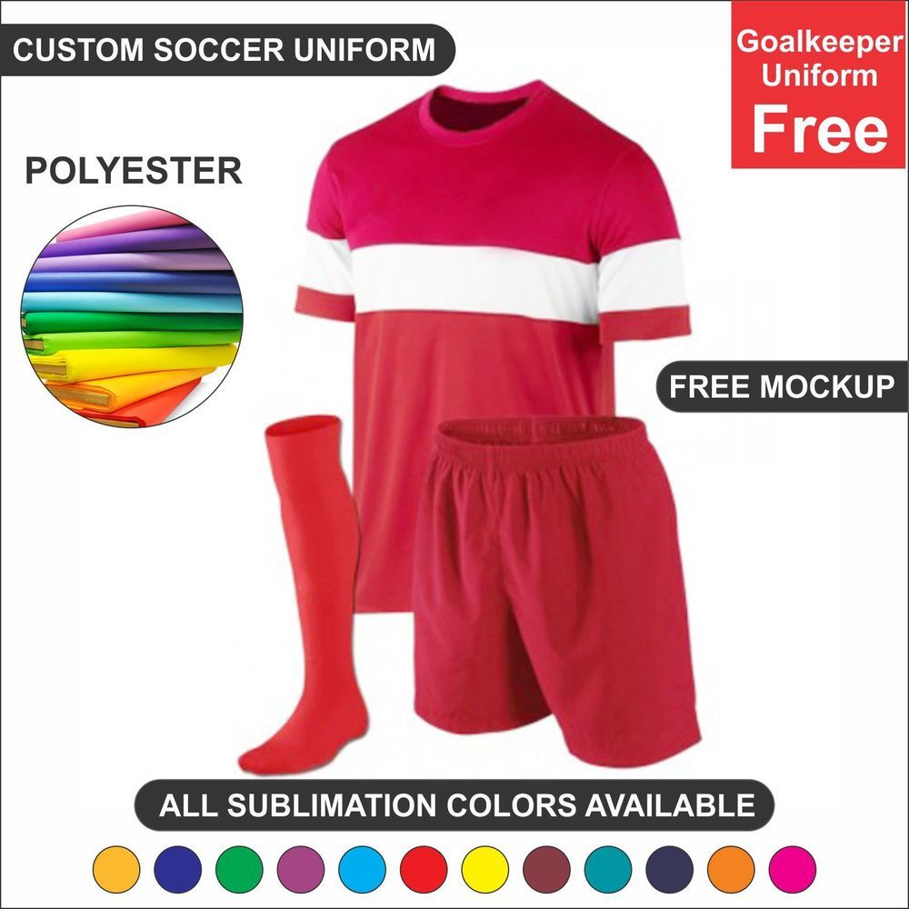 Soccer Team Uniform Sets 15 Each Jersey Shorts Socks Nos Goalkeeper Free Yourbrand Jerseys Team Uniforms Soccer Uniforms Jersey Shorts