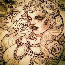 Resultado de imagem para desenhos de tatuagens new school