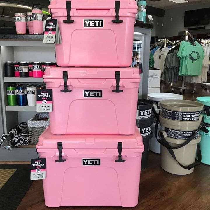 Pink Limited Edition Yeti Coolers In Stock Roadie 35 And 50 The Only 3 Sizes Yeti Is Making Get Them While You Can Sodium Yeti Coolers Yeti Tundra Yeti