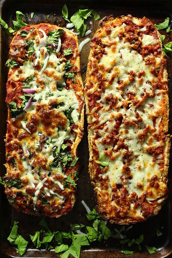 Homemade French Bread Pizza Recipe-Simple Green Moms