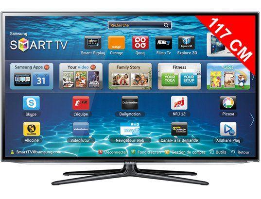 led 117 cm full hd 3d smart tv