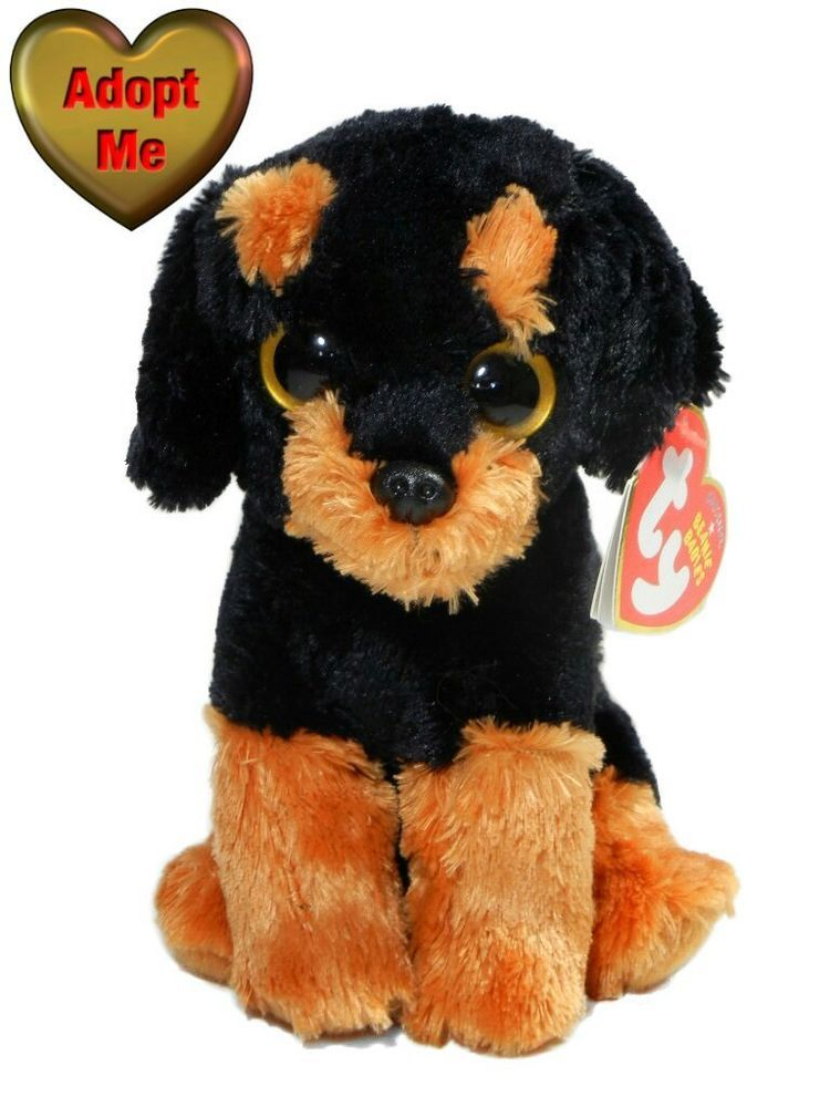add4011c446 Ty beanie babies original brutus rottweiler puppy dog stuffed plush animal  jpg 750x1000 Brutus beanie boo